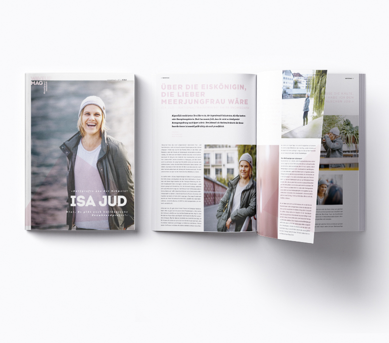 WaveupMag Coverstory mit Isa Jud